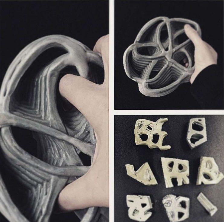 Glazed Ceramics and Robotically 3D Printed Object_SinaMostafavi