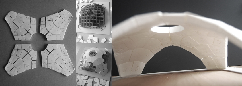 eCAADe2014_sinamostafavi_3Dprinted Prototype
